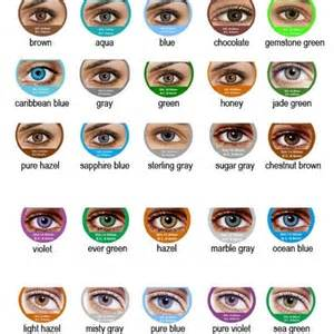 eye colors chart fresh contact lenses shopsmall buy now 9 99