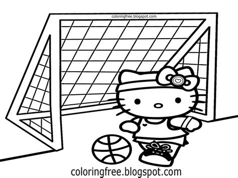 hello kitty soccer coloring pages free coloring pages printable pictures to color kids