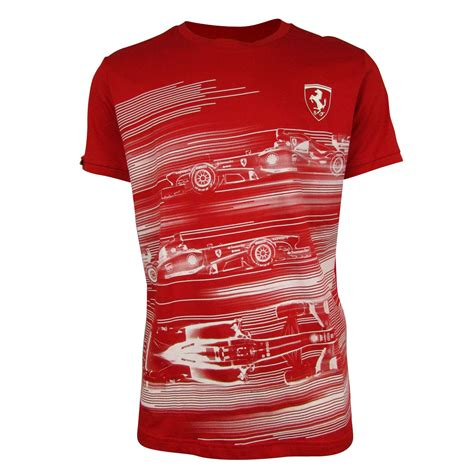 T Shirt One Graphic 1 mens sf scuderia formula 1 one replica t