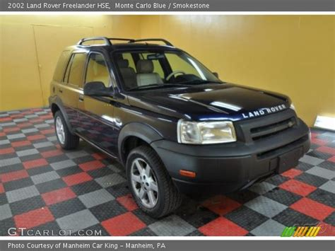 2002 land rover freelander interior monte carlo blue 2002 land rover freelander hse