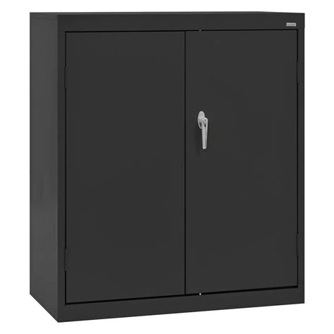 counter high metal storage cabinet sandusky classic 42 in h x 36 in w x 24 in d