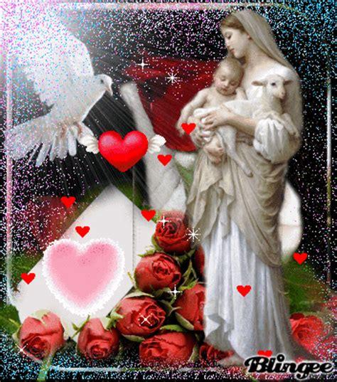imagenes de la virgen maria descargar fotos animadas la virgen maria y el ni 241 o jesus para