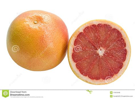 grapefruit sections grapefruit and section royalty free stock photos image