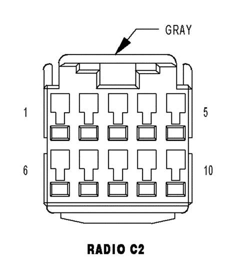 2006 ram 1500 standard radio wiring diagram page 2