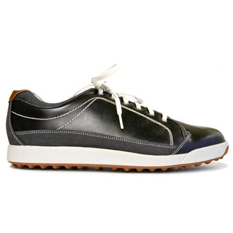 footjoy s contour casual spikeless golf shoes black