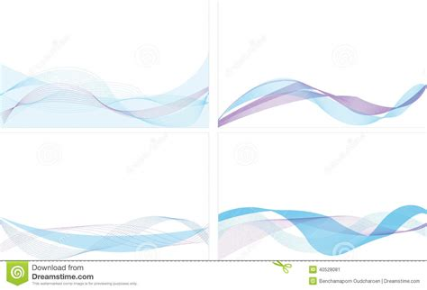 background name card blue line abstract background stock vector illustration