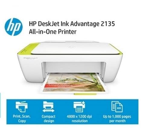 Harga Printer Hp 2135 by Infonet Hp Deskjet Ink Advantage 2135 All In One Printer