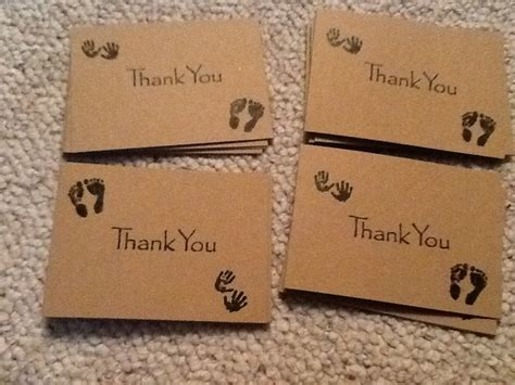 Gift Card For Baby Shower How Much - diy baby shower thank you cards sting is so beautiful much more personal than the