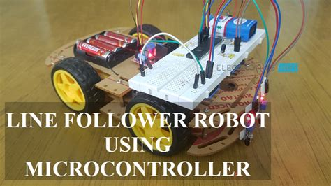 follower robot  microcontroller engineering projects