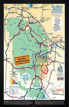 sturgis usa map throttle saloon sturgis south dakota for more