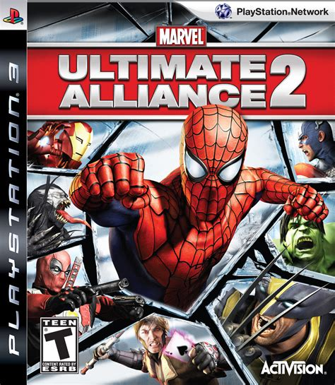 Bd Ps3 Kaset Marvel Ultimate Alliance marvel ultimate alliance 2 playstation 3 ign
