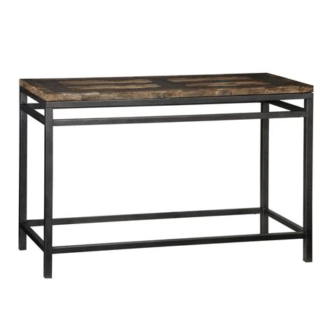 Shop Home Styles Turn To Stone Petrified Wood Black Black Sofa Tables