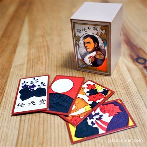 Nintendo Gift Card - classic nintendo mahjong set and hanafuda cards gakuranman