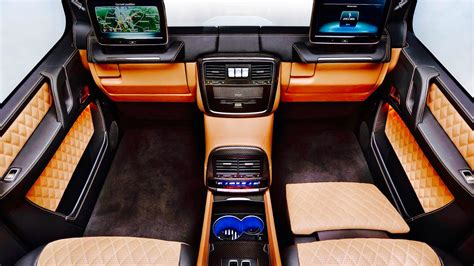 mercedes maybach interior 2018 2018 mercedes maybach g650 landaulet interior