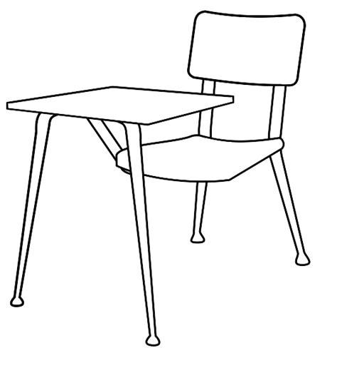 black and white desks student desk clipart black and white clipartsgram