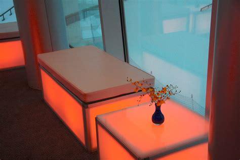 led bench led bench event rental