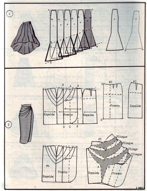 pattern drafting of skirt pattern drafting picmia