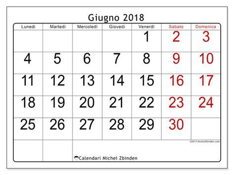 Calendario 2018 Giugno Calendario Per Stare Giugno 2018 Emericus Svizzera