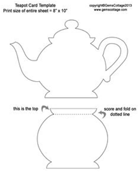 s day card tea cup template teapot template search tea