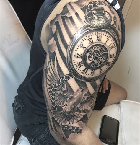 pocketwatch tattoo pocket kumbia tattoos pocket