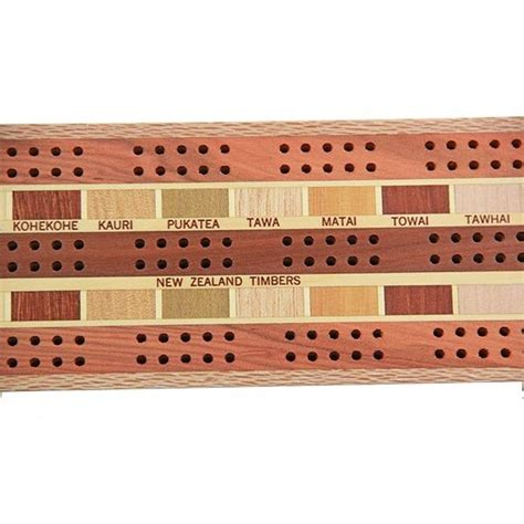 Crib For 2 Players by Cribbage Board 3 Player Timber Arts New Zealand