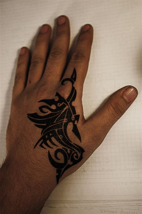 tribal tattoo for hand tattoos page 29