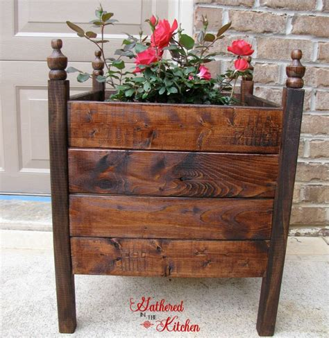 12 diy planter box planters too cute and front doors