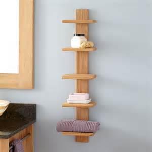 teak bathroom shelves 36 quot three tier teak corner bath shelf bathroom