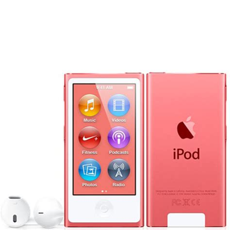 Ipod Nano Multi Touch ipod nano 7th 16gb pink electronics thehut