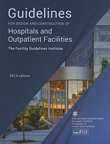 design guidelines for healthcare facilities free pdf guidelines for design and construction of