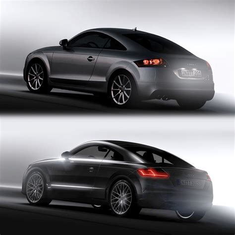 Audi Tt 2 Generation by Audi Tt 2nd And 3rd Generation Design Comparison Car
