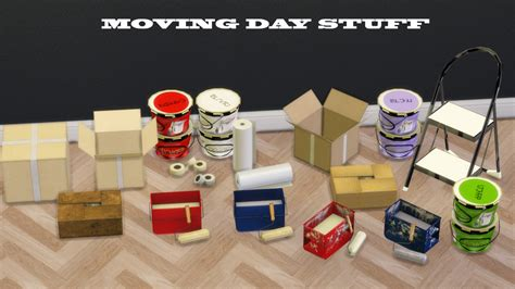 sims 4 moving boxes leo sims more moving day stuff set includes bubblewrap