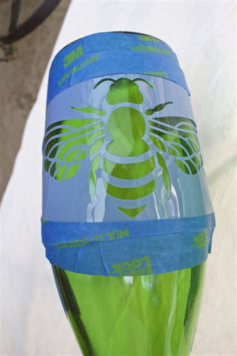 diy plant watering bottle diy etched plant water bottle 2 bees in a pod