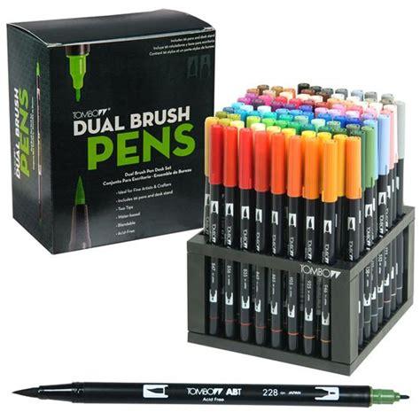 Tombow Dual Brush Pens, 96 Color Desk Set 56149   Nordisco.com
