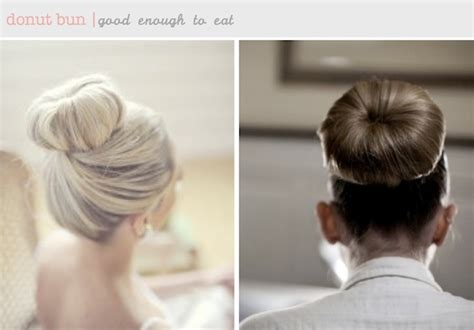 concurve hair bob hairstyles using a bun donut make art not war every girl