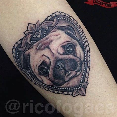 pug tattoos the 25 best pug ideas on