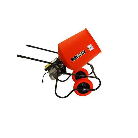 Kushlan 3.5 cu. ft. 3/4 HP 120 Volt Motor Direct Drive Cement Mixer 350DD   The Home Depot