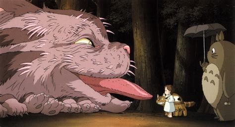 studio ghibli film with cats mei and the baby cat bus only available at the ghibli