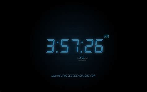 digital windows digital clock wallpaper for windows 7 images
