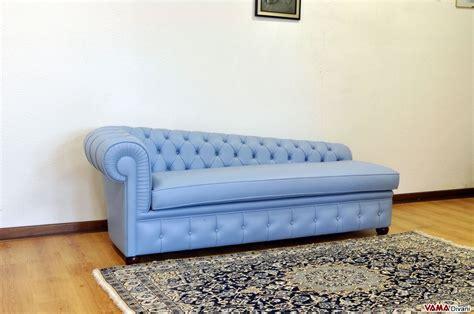 divano dormeuse dormeuse chesterfield classica in pelle misure e prezzi