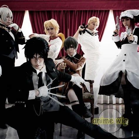 black butler list black butler all characters anime hair wig