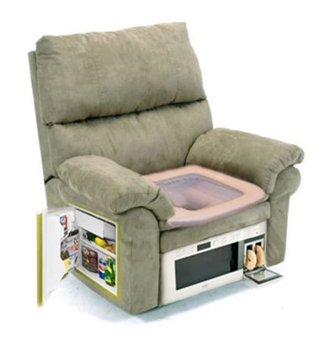 recliner chairs with fridge the ultimate gaming chair picture ebaum s world