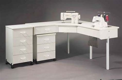 corner sewing machine table sewing cabinets 699 sew and serge corner table