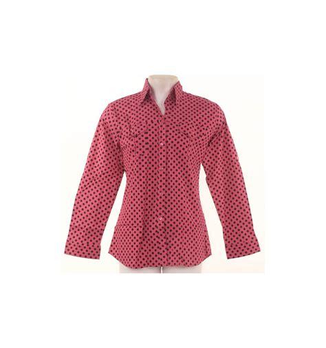 Kemeja Dress Fashion Denim Cewek Free Belt tops cotton kemeja cewek lengan panjang sofia 020009461