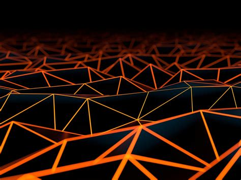 wallpaper surface triangles hd abstract