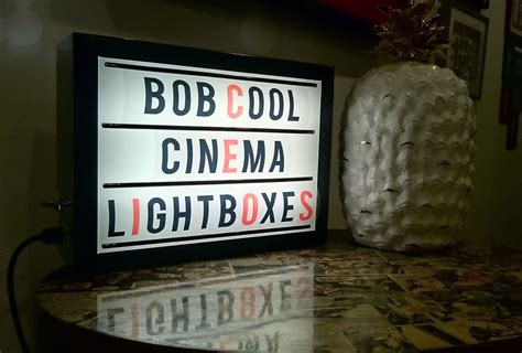 large cinema light box cinema light box 35cm x 26cm with interchangeable letter pack