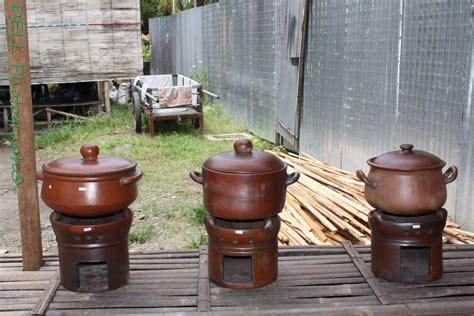 Great Timer Masak Panci 3 gerabah antique bayat tempat buah dan tungku fruit place and stove