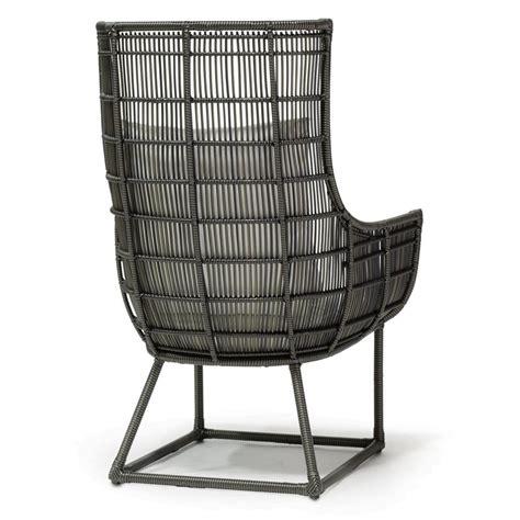 faux wicker chairs modern classic faux wicker espresso outdoor lounge