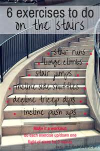 Stairs For Fitness by 6 Exercises You Can Do On The Stairs