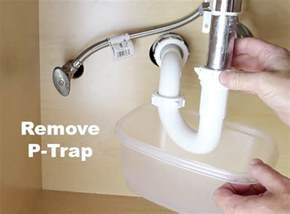 p trap kitchen sink replacing bathroom sink p trap tomthetrader